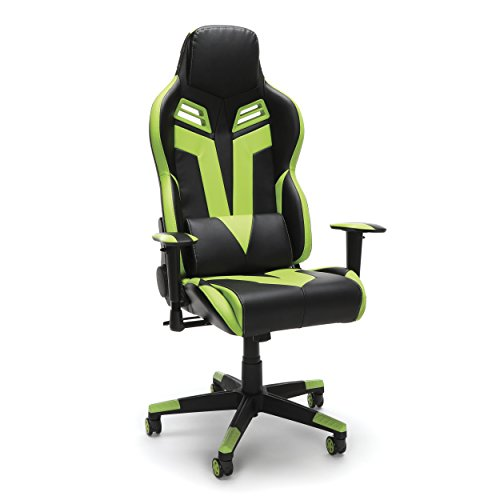RESPAWN 104 Racing Style Gaming Chair, in Green (RSP-104-GRN)