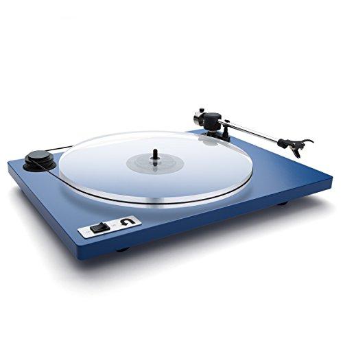 U-Turn Audio - Orbit Plus Turntable with Built-in preamp (Blue)