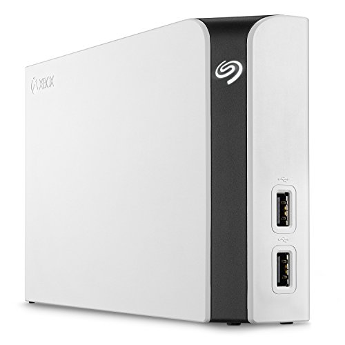 Seagate Game Drive Hub 8TB External Hard Drive Desktop HDD With Dual USB Ports - Designed For Xbox One - 1-yr Rescue Service (STGG8000400)