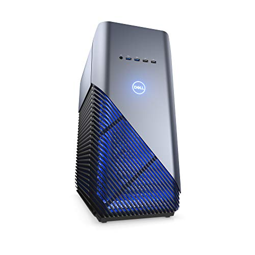 Dell i5675-7806BLU-PUS Inspiron Gaming PC Desktop 5680, Intel Core i7-8700, 8GB DDR4 Memory, 128GB SSD+1TB SATA HDD, NVIDIA GeForce GTX 1060, Recon Blue, Windows 10 64-bit