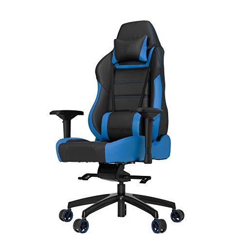 Vertagear P-Line PL6000 Racing Series Gaming Chair - Black/Blue (Rev. 2) - Nov/2016