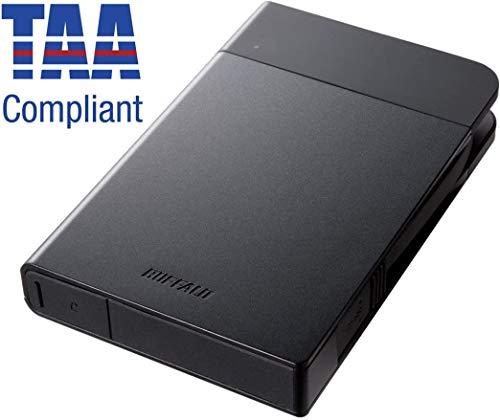 Buffalo MiniStation Extreme NFC USB 3.0 1 TB Rugged Portable Hard Drive (HD-PZN1.0U3B),Black