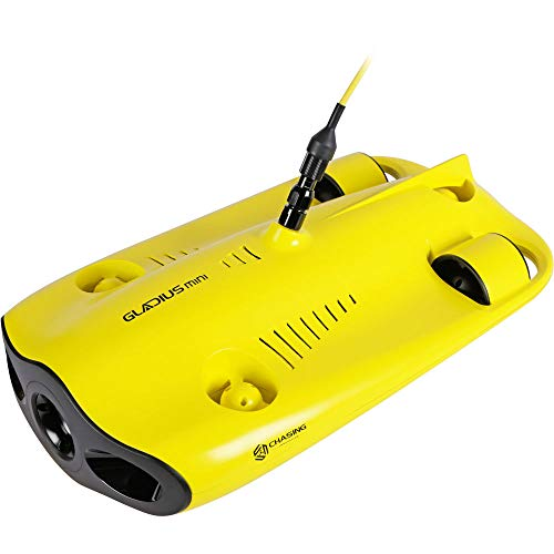 CHASING GM0001 Gladius Mini Underwater Drone (ROV) with 4K UHD Camera (100M Tether)