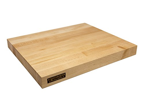 Butcher Block Acoustics Audio Isolation Platform - Edge Grain (22' x 19' x 1-3/4', Maple)