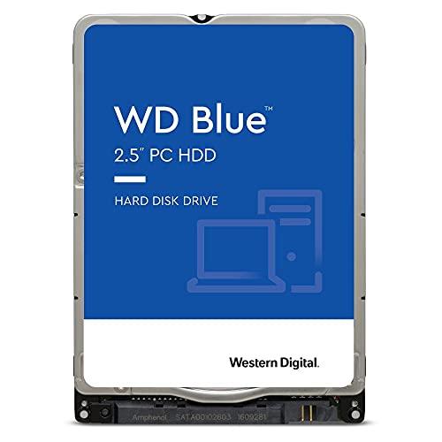 Western Digital 2TB WD Blue Mobile Hard Drive HDD - 5400 RPM, SATA 6 Gb/s, 128 MB Cache, 2.5' - WD20SPZX
