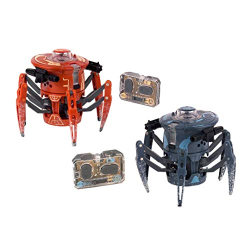 HEXBUG Battle Spider 2.0 Dual Pack Blue and Orange, One Size