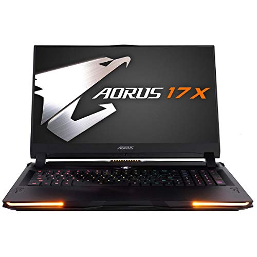 [2020] Gigabyte AORUS 17X XB-8US2150MP 17.3 Hard Core Gaming Laptop 240Hz FHD IPS LCD, i7-10875H, NVIDIA GeForce RTX2070 Super Max-P, 16GB RAM, M.2 PCIe 1TB SSD, Win 10 Pro