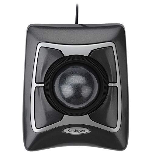 Kensington Expert Trackball Mouse (K64325), Black Silver
