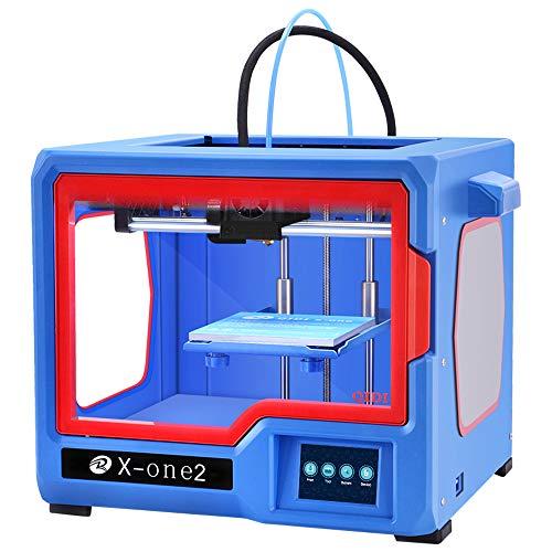 QIDI Technology X-one2 Single Extruder 3D Printer, Metal Frame Structure,Platform Heating