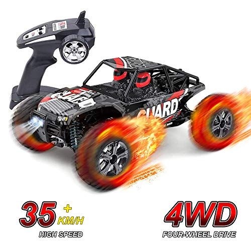 SGOTA RC Car 1/14 Scale Four-All Wheel Drive Model Car High Speed Radio Controlled Vehicle 2.4GHZ 4WD Off-Road Buggy Children Toys