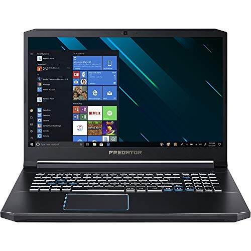 Acer Predator Helios 300 Gaming Laptop PC, 17.3' Full HD IPS Display, Intel i7-9750H, GTX 1660 Ti 6GB, 8GB DDR4, 512GB PCIe NVMe SSD, RGB Backlit Keyboard, PH317-53-77HB