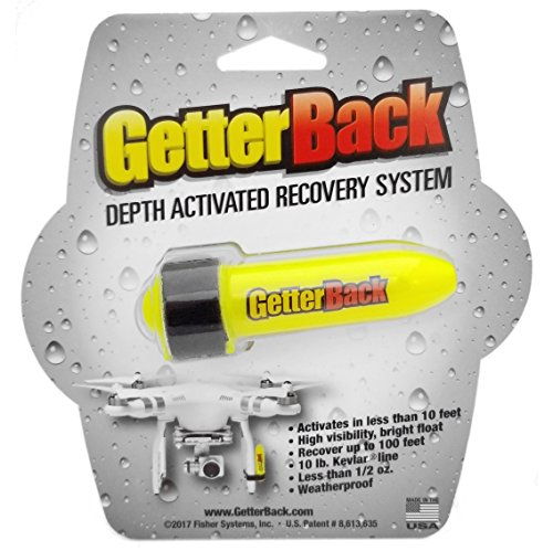 GetterBack Depth Activated Underwater Recovery System