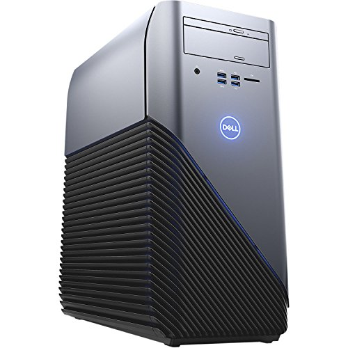 Dell Inspiron 5675 VR Gaming Desktop PC - AMD Ryzen 7 1700 X 3.4GHz, 12GB, 1TB HDD + 128GB SSD, AMD Radeon RX 570 4GB Graphics, DVDRW, Bluetooth, Windows 10 Home (Renewed)
