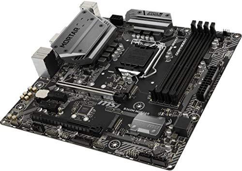 MSI B360M Mortar LGA1151/ Intel B360/ DDR4/ SATA3&USB3.1/ M.2/ A&GbE/MicroATX Motherboard