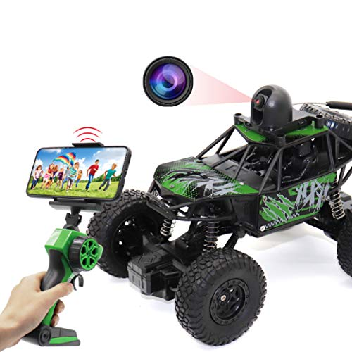 RC Car with Camera 720P HD FPV, 1:22 Spy Remote Control Car with Camera, Remote Control Car for Kids and Teens with Camera, RC Spy Car Gift for Kids