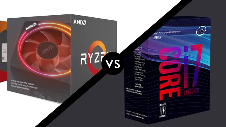 Ryzen 7 2700x vs Intel Core i7 8700k Gaming