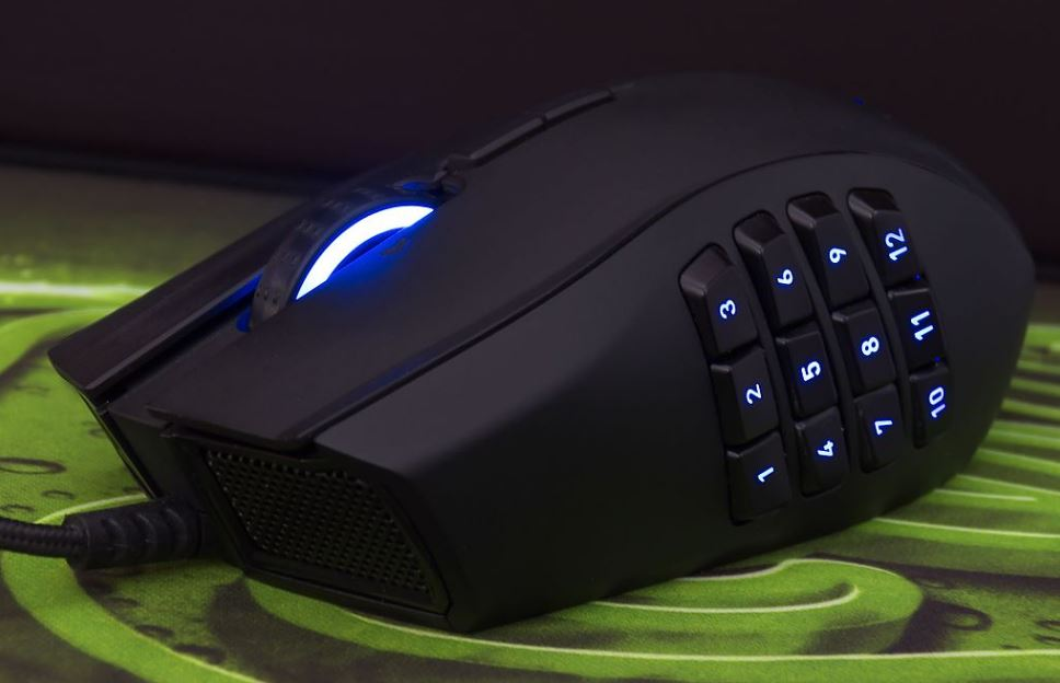 mouse with the most buttons