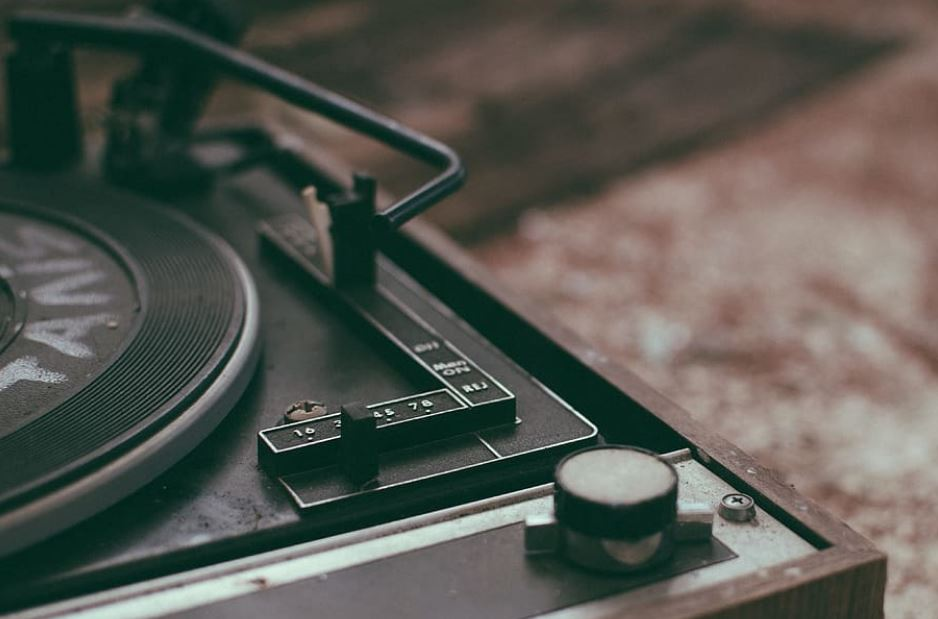 best vintage record player